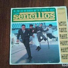 Discos de vinilo: LOS SENCILLOS-NO POR ESO NO(QUIERO QUE TU TE VAYAS DE AQUÍ).MAXI. Lote 93587465
