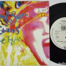 Discos de vinilo: THOMSON TWINS - COME INSIDE 2 VERSIONES - SINGLE - WB 1991 GERMANY. Lote 93594840