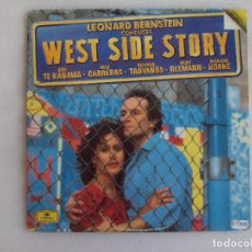 Discos de vinilo: WEST SIDE STORY, BSO, DOBLE LP EDICION ESPAÑOLA 1985 POLYGRAM IBERICA. Lote 93597025