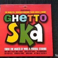 Discos de vinilo: GHETTO SKA-RECOPILACIÓN. Lote 93598350