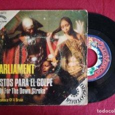 Discos de vinilo: PARLIAMENT, LISTOS PARA EL GOLPE (EMI) SINGLE ESPAÑA. Lote 93604220