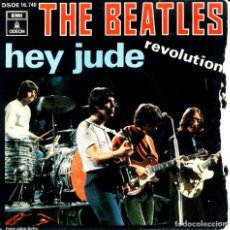 Discos de vinilo: THE BEATLES - HEY JUDE / REVOLUTION . Lote 93605235