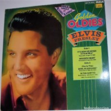 Discos de vinilo: ELVIS PRESLEY - GOLDEN OLDIES - MAXI SINGLE 45 RPM - NM -DISCO DE VINILO DIFÍCIL. Lote 93614285