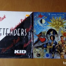 Discos de vinilo: LOTE DE 2 DISCOS VINILO DISCO PRETENDERS KID EXTENDED REMIX TEARS FOR FEARS THE SEEDS OF LOVE . Lote 93615240