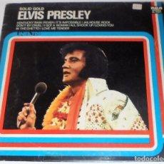 Discos de vinilo: ELVIS PRESLEY - SOLID GOLD - LP 1975 ITALIA. DISCO DE VINILO.. Lote 96567608