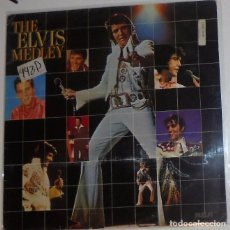 Discos de vinilo: ELVIS PRESLEY - THE ELVIS MEDLEY - MAXI SINGLE 1982 - PROMO EMISORA DE RADIO DISCO DE VINILO.. Lote 93617055