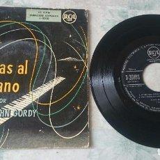 Discos de vinilo: POPPA JOHN GORDY: RITMO DEL PERRO RETOZON + 3 (RCA 1958). Lote 93635245