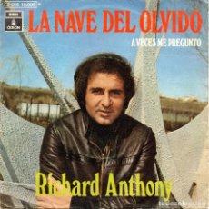 Discos de vinil: XX SINGLE, RICHARD ANTHONY.. Lote 93653145