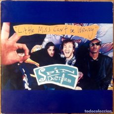 Discos de vinilo: SPIN DOCTORS : LITTLE MISS CAN'T BE WRONG [NLD 1993]. Lote 93661285