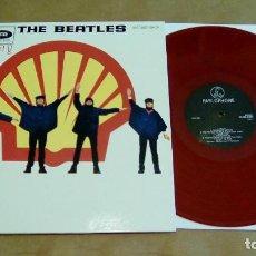 Discos de vinilo: THE BEATLES - HELP! (LP REEDICIÓN, VINILO COLOR) NUEVO. Lote 93677760