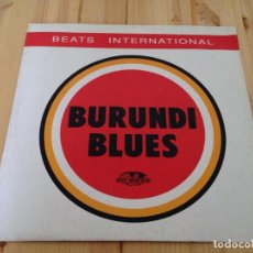 Discos de vinilo: BEATS INTERNATIONAL - BURUNDI BLUES -NORMAN COOK -FATBOY SLIM. Lote 93682405