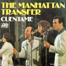 Discos de vinilo: SINGLE, THE MANHATTAN TRANSFER.. Lote 93692910