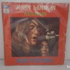 Discos de vinilo: SINGLE - JOHN LENNON PLASTIC ONO BAND-POWER TO THE PEOPLE/OPEN YOUR BOX-EMI ODEON 1J006-04.766-1971. Lote 93693890