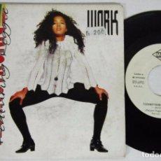 Discos de vinilo: TECHNOTRONIC / REGGIE - WORK + WORK IT MIX - SINGLE - MAX 1991 SPAIN - PROMO. Lote 93705625