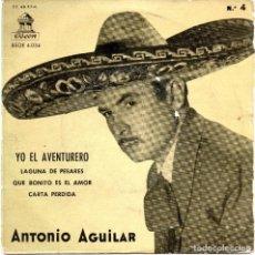 Discos de vinilo: SINGLE, ANTONIO AGUILAR.. Lote 93711685