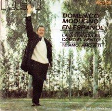 Discos de vinil: XX SINGLE, DOMENICO MODUGNO.. Lote 93713585