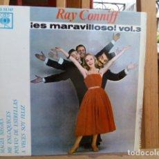 Discos de vinilo: RAY CONNIFF .ES MARAVILLOSO VOL.3 EP DE 4 CANCIONES. Lote 93716215
