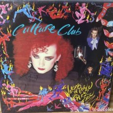 Discos de vinilo: LP - CULTURE CLUB - WAKING UP WITH THE HOUSE ON FIRE - VIRGIN T 206700 - 1984. Lote 93717050