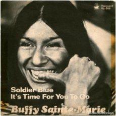 Discos de vinilo: BUFFY SAINTE-MARIE - SOLDIER BLUE - SG SWEDEN 1970 - VANGUARD VA-809 . Lote 93721560