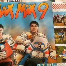 Discos de vinilo: MAX MIX 9. 2 DISCOS. Lote 93735292