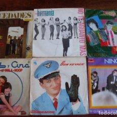 Discos de vinilo: LOTE DE 170 SINGLES VARIADOS DE DIFERENTES AÑOS ( POP,ROCK,LATINO,FUNK, ETC ) + 21 SIN FUNDA. Lote 93754310
