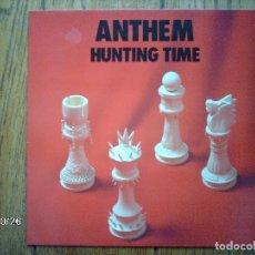 Discos de vinilo: ANTHEM - HUNTING TIME. Lote 93769290
