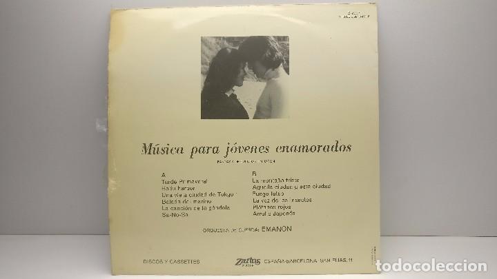 Discos de vinilo: LP-VINÍLO MUSICA PARA JOVENES ENAMORADOS - SPAIN 1974 - ZARTOS Z-2007 - Foto 2 - 93769745