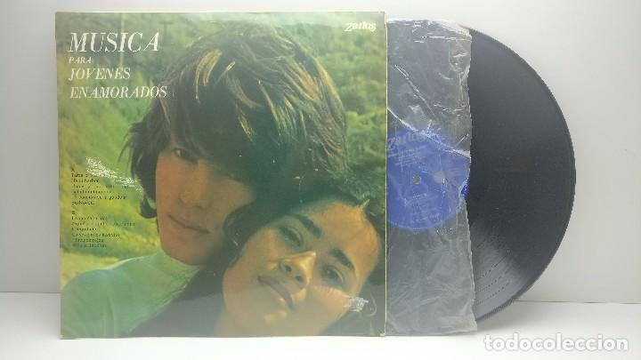 Discos de vinilo: LP-VINÍLO MUSICA PARA JOVENES ENAMORADOS - SPAIN 1974 - ZARTOS Z-2007 - Foto 3 - 93769745