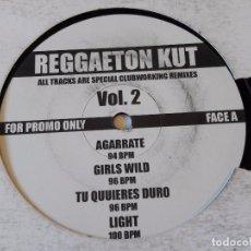 Discos de vinilo: VARIOUS - REGGAETON KUT VOL. 2. Lote 93769895