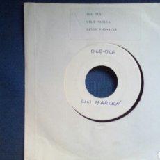 Discos de vinilo: OLE OLE LILI MARLEN TEST PRESSING. Lote 93776928
