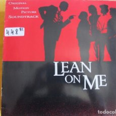 Discos de vinilo: LP - LEAN ON ME - VARIOS (VER FOTO ADJUNTA) (GERMANY, WB RECORDS 1989). Lote 93779590
