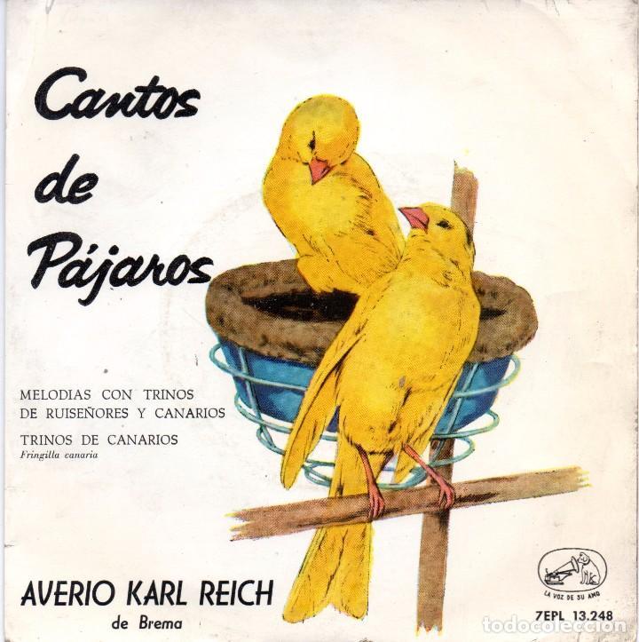 SINGLE, CANTOS DE PAJAROS. (Música - Discos - Singles Vinilo - Otros estilos)