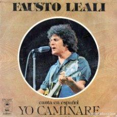Disques de vinyle: SINGLE, FAUSTO LEALI.. Lote 93791600