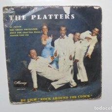 Discos de vinilo: THE PLATTERS ''MY PRAYER'' AÑOS 60 VINILO DE 7'' EPS DE 4 CANCIONES. Lote 93793510