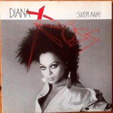 Discos de vinilo: DIANA ROSS : SWEPT AWAY [ESP 1984]. Lote 93797065