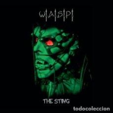 Discos de vinilo: WASP THE STING 2 LPS. NUEVO PRECINTADO VINILO VERDE. Lote 93802400