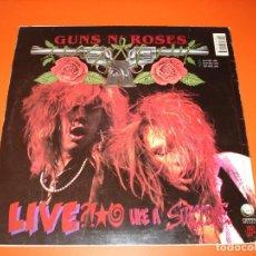 Discos de vinilo: GUNS N' ROSES (GN'R LIES ) EP 1991 ESPAÑA- SOLO EDITARON 1000 COPIAS. Lote 93814825
