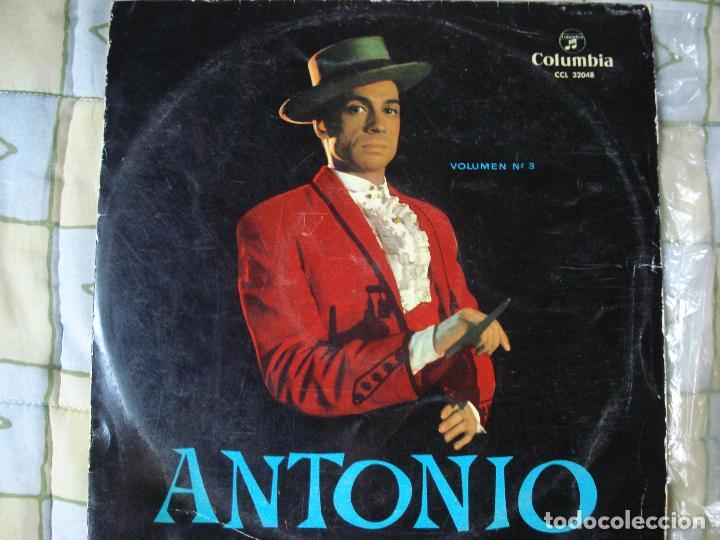 ISAAC ALBENIZ , ANTONIO LA MUSICA ESPAÑOLA , COLUMBIA 1961 (Música - Discos - LP Vinilo - Flamenco, Canción española y Cuplé)