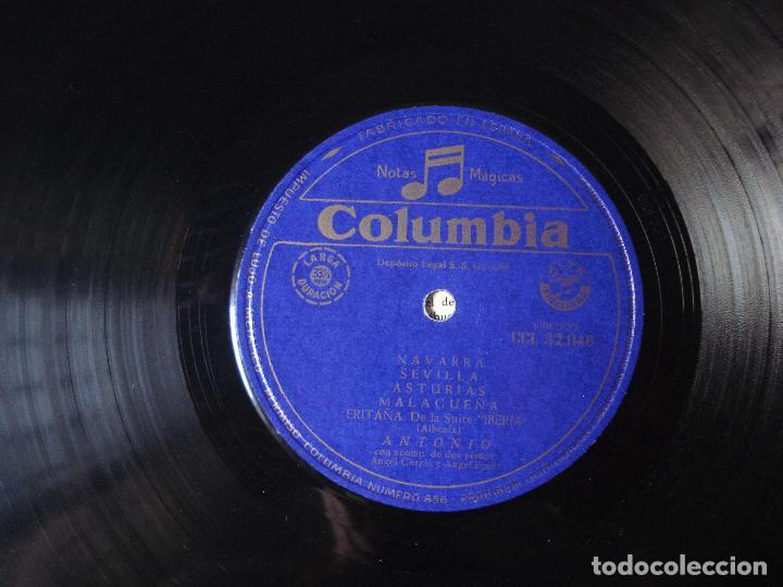 Discos de vinilo: ISAAC ALBENIZ , ANTONIO LA MUSICA ESPAÑOLA , COLUMBIA 1961 - Foto 2 - 93822225