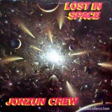 Discos de vinilo: LP- JONZUN CREW ?– LOST IN SPACE (ELECTRO-DISCO). Lote 93835380