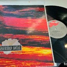 Discos de vinilo: MUSICA LP SEGURIDAD SOCIAL QUE NO SE EXTINGA LA LLAMA . Lote 93837460