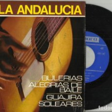 Discos de vinilo: ALFONSO Y MANUEL LABRADOR (GUITARRAS) -BAILA ANDALUCÍA - EP 1966. Lote 93840430