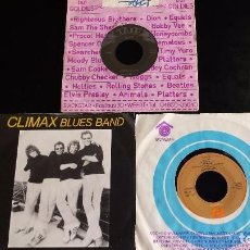 Discos de vinilo: LOTE DE 3 SINGLES BLUES & ROCK: CLIMAX BLUES BAND + REDWING + WILBUR HARRISON. Lote 93841715