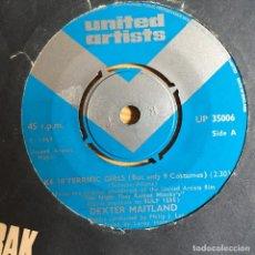 Discos de vinilo: DEXTER MAITLAND - TAKE 10 TERRIFIC GIRLS (BUT ONLY 9 COSTUMES) . SINGLE . 1969 UK. Lote 93845070