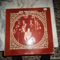 Discos de vinilo: AN TRISKELL, PRODUCTIONS VELIA. FOLK BRETON. Lote 93848595