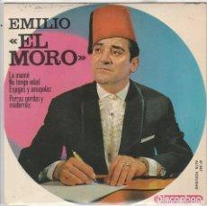 Discos de vinilo: EMILIO EL MORO / LA MAMA + 3 (EP 1964). Lote 93853180