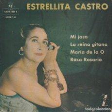 Discos de vinilo: ESTRELLITA CASTRO / LA REINA GITANA + 3 (EP 1962). Lote 93856760