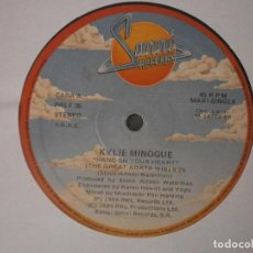 Discos de vinilo: KYLIE MINOGUE - HAND ON YOUR HEART 12'' DISCO DE VINILO. Lote 93862090