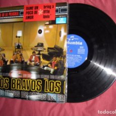 Discos de vinilo: LOS BRAVOS - DAME UN POQUITO DE AMOR - LP LAS CANCIONES DE LA PELICULA 1968. Lote 93863565