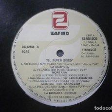 Discos de vinilo: VARIOUS - EL ZUPER DISCO (LP,COMP) 12'' DISCO DE VINILO. Lote 93872325